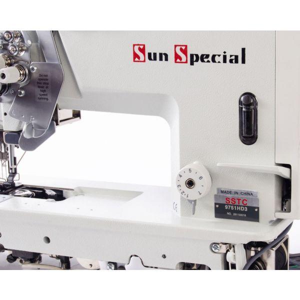 Máquina Pespontadeira Barra Desligável Eletrônica Industrial SSTC9751HD3 - Sun Special