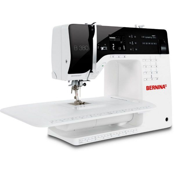 Máquina Costura Doméstica Branca Bivoltv B380 Bernina
