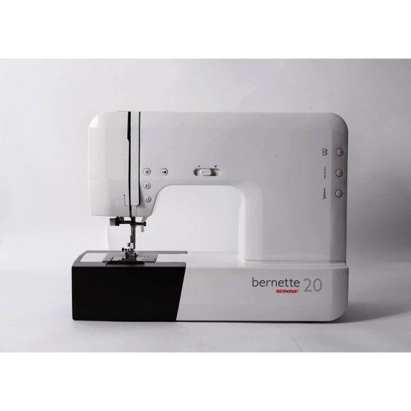 Máquina Costura Doméstica Branca Bivoltv B20 Bernina