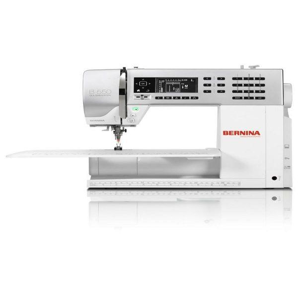 Máquina Costura Doméstica Branca Bivoltv B550 Bernina