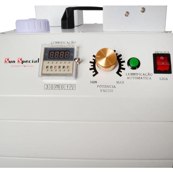 Máquina Arrematar Fios e Linhas com 2 Cabeças 2 Motores 650w 220v SSH-106-2D Sun Special
