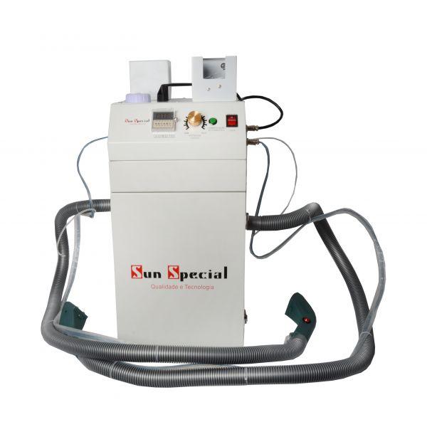 Máquina Arremate Fios com 2 Cabeças 2 Motores 650w 220v SSH-106-2D Sun Special