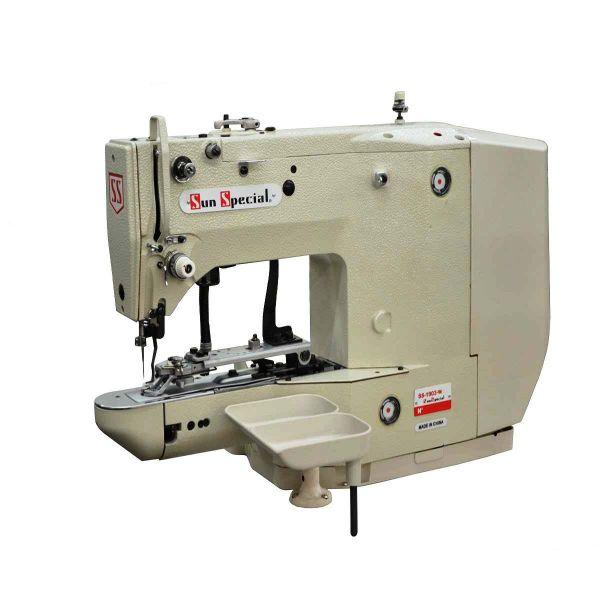 Máquina Costura Industrial Botoneira Eletrônica SS1903W Sun Special