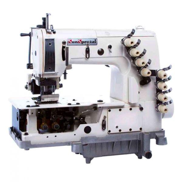 Máquina Costura Industrial Cós para Jeans SSTC7008P Sun Special