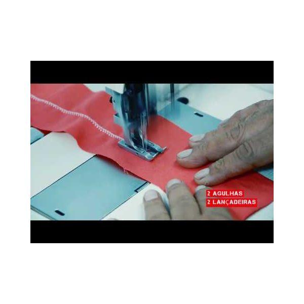 Máquina Costura Industrial Ponto Ajour Catraca SST1720PWG Sun Special