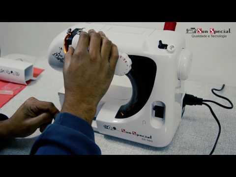 Máquina Costura Doméstica Ss-565 Mecânica - Sun Special