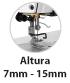 Máquina de Costura Industrial  Pespontadeira Alternada Eletrônica Calcador até 15mm